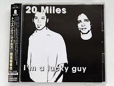 20 MILES I'm A Lucky Guy ESCA-7406 JAPAN CD w/OBI 100az61