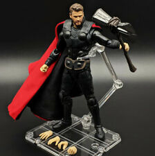 Anime S.H.Figuarts SHF Avengers Infinity War Thor Saw Figure Figurine Toy #F237