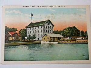 RPPC United States Fish Hatchery  Cape Vincent New York Posted 1929