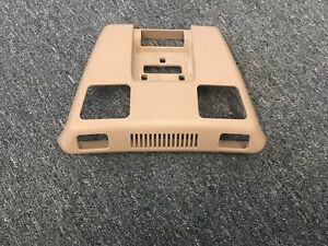Mercedes-Benz A124 E320 300CE CABRIOLET Dome Light Console Molded Cover Beige