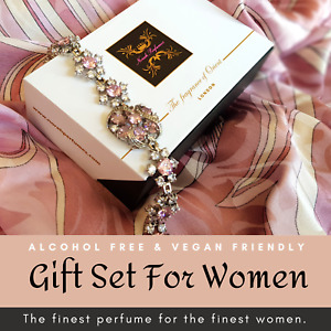 Luxury perfume gift set for women birthday wedding anniversary eid  alcohol free