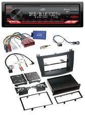 JVC DAB Lenkrad Bluetooth USB Autoradio für Mazda 3 2009-2013 ohne Soundsystem