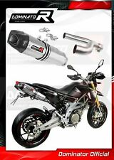 DOMINATOR Exhaust silencer muffler HP1 SMV 750 DORSODURO 08-16 + db killer