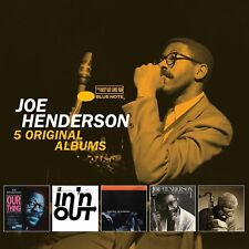 JOE HENDERSON 5CD NEW Our Thing/In 'N Out/Inner Urge/State Of The Tenor 1 & 2