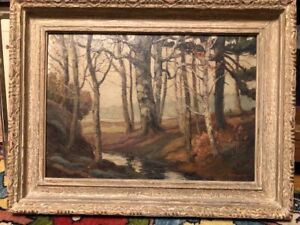 ROBERTY LINDSAY, ONTARIO LISTED ARTIST, OIL LANDSCAPE , GROUP OF SEVEN INFLUENCE