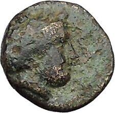 Lampsakos in Mysia 400BC Rare Ancient Greek Coin Female head Pegasus  i46034