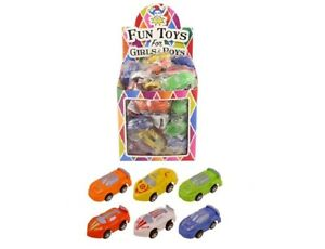 Pull Back Racing Cars - Party Bag Filler Toy Gift Loot Bag
