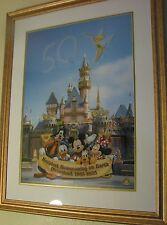 The Happiest Homecoming On Earth Disney Sericel 2005 Edition #/500 Coa Very Rare
