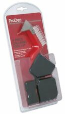 ProDec 4pc Caulking Silicone Tool Kit Nylon Brush Scraper Edging Tools PLDT010
