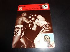 Sugar Ray Robinson 1977 Sportscaster Series Recontre Lausanne 09-09 Boxing NM