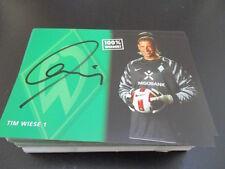 67015 Tim Wiese DFB Werder Bremen original signierte Autogrammkarte