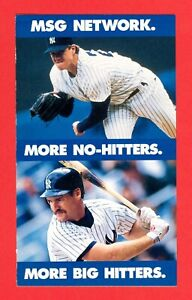 1994 New York Yankees Schedule  More No-Hitters More Big Hitters nr/mt
