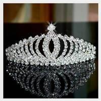 Tiara Crystal Wedding Bridal Bridesmaid Princess Headband Crown Headpiece