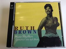 Ruth Brown Miss Rhythm: Greatest Hits and More 1994 2 CD SET