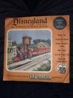 1956 Disneyland Frontierland Sawyer's Viewmaster 3 Reels & Sleeves NEVER OPENED