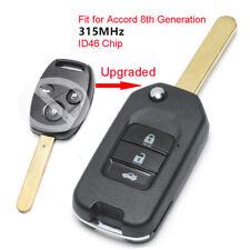 Upgraded Remote Key Fob 3B 315MHz ID46 for Honda Accord 8th Generation 2008-2012