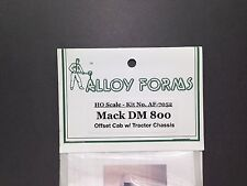 HO 1/87 Alloy Forms # 7052 Mack DM 800 Offset Cab w/tractor chassis Kit
