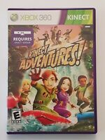 Xbox 360 Kinetic Adventures 2010 Microsoft Video Game Complete TESTED