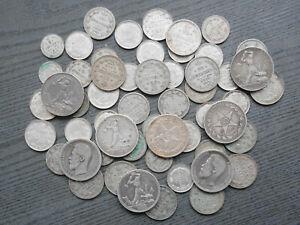 Lot 54 x Kopeken etc. Russland - Silber