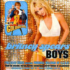 CD Single Britney SPEARS - Soundtrack : Austin Power	Boys 2-Track CARD SLEEVE