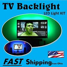 Behind the Living Room TV Set Light - - TV LED backlight - - universal fit