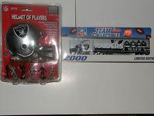 NFL Raiders .  ..helmet / tractor-trailer    2000 limited edition