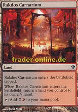 2x rakdos Carnarium (rakdos-bataille site) Commander 2013 Magic