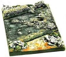 Milicast DBS04 1/76 Resin WWII Part 3 only of Diorama Base set with stone wall