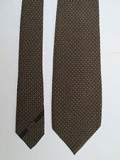 -AUTHENTIQUE cravate cravatte BASILE   100% soie  TBEG  vintage
