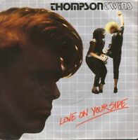 """THOMPSON TWINS love on your side  love on your back 7"""" PS EX/EX uk ARIST 504"""