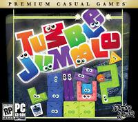 Tumble Jumble PC Games Windows 10 8 7 XP Computer match three block puzzle NEW