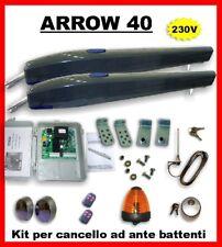 *KIT PER CANCELLO AD ANTE BATTENTI 230V Motore Arrow40
