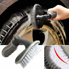 Auto KFZ Felgenbürste Reinigung Bürste Waschbürste Autopflege für Alu Felgen