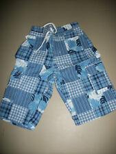NWT Gymboree~~~Frog Pond~~ Blue Patchwork Bermuda Shorts  Size 5     Z2