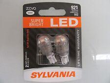 SYLVANIA LED SUPER BRIGHT 921 912 LED 2 TWO BRAND NEW Bulbs