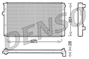 DENSO Radiator DRM32008 VW Golf Passat Polo Vento