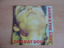 """Adam And The Ants: Dog Eat Dog 7"""": 1980 UK Release: Picture Sleeve"""