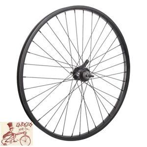 "WHEEL MASTER COASTER BRAKE 26"" x 1.75""  STEEL BLACK BICYCLE REAR WHEEL"