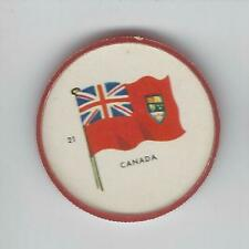 1963 General Mills Flags of the World Premium Coins #21 Canada