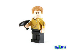 CAPTAIN KIRK Custom Printed on Lego Minifigure! Star Trek
