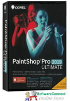 COREL PAINTSHOP PRO 2019 ULTIMATE PAINT SHOP PRO NEW SEALED GENUINE GUARANTEE