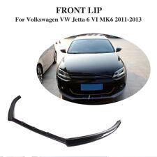 Carbon Fiber Front Bumper Lip Chin Fit for Volkswagen Jetta MK6 6 VI 2011-2013