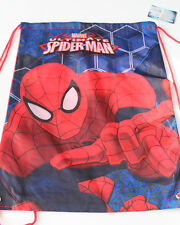 Neuf Sac à Dos Enfants Marvel de Sport Spiderman Rouge Polyester Taille 42x33 CM