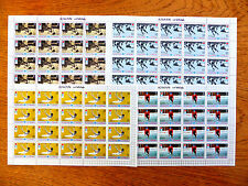 AJMAN Wholesale 1971 Winter Olympics 4 Complete Sheets of 20 SALE PRICE FP2451