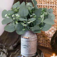 Garden Room Wedding Bouquet Eucalyptus Leaves Fake Flower Artificial Plant