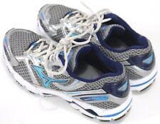 Mizuno Wave Rider 2 Women's $90 Running Shoes Size 9 Gray Blue