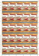1936 DRG Streamlined Class 05 4-6-4 Germany Train 50-Stamp Sheet/ LOCO 100 LOTW