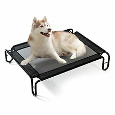 """New listing Elevated Dog Bed for Large Dogs 43""""x28""""x8"""" Raised Dog Bed Breathable Durable ."""
