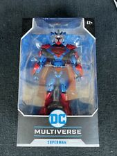 "McFarlane Toys Superman Unchained Armor Action Figure 7"" DC Multiverse"