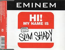 EMINEM - MY NAME IS CD SINGLE 3 TRACKS 1999